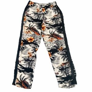 Maje Tropical Hawaiian jogger pant size 1